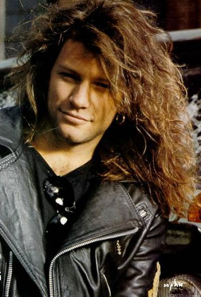 Jon Bon Jovi's in the 80s