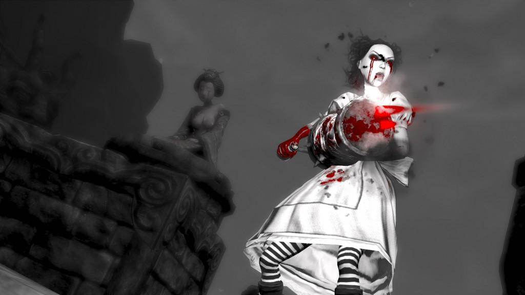 Alice game scene