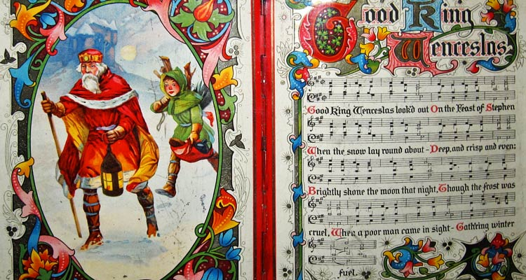 Christmas music sheet