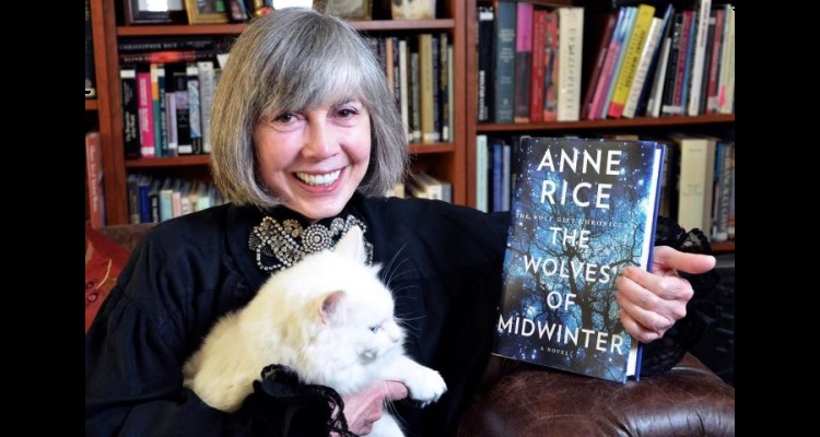 Anne Rice with Wolves Of Midwinter