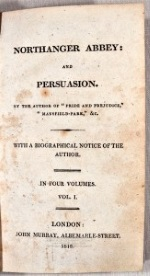 Persuasion´ by Jane Austen