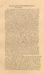 Rue Morgue Manuscript