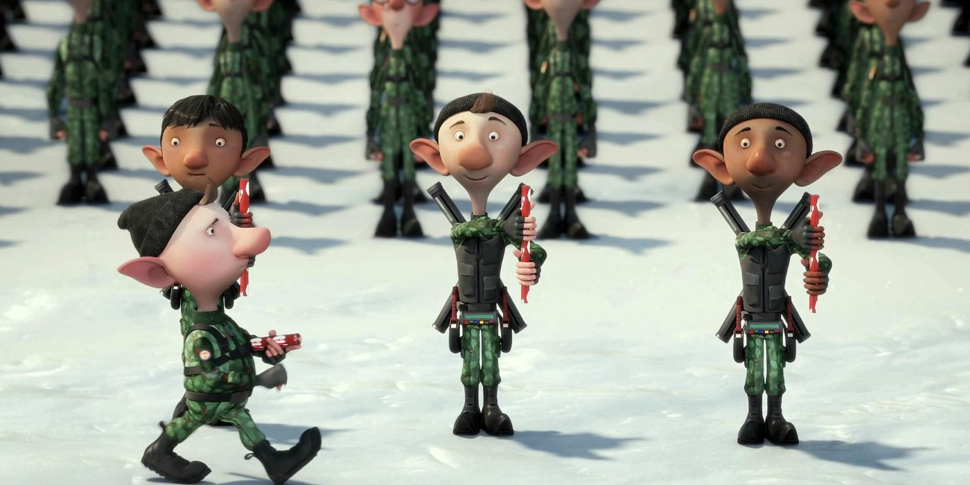 Arthur Christmas Elves.The Best Christmas Movies With Elves Making Toys Causing
